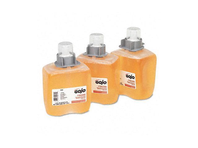 GOJO 5162-03CT FMX-12 Foam Hand Wash, Orange Blossom, FMX-12 Dispenser, 1250ml Pump, 3/Carton