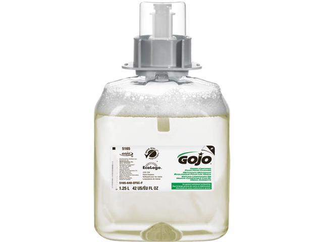 GOJO 5165-03 FMX Green Seal Foam Handwash Dispenser Refill, Unscented, 1250ml