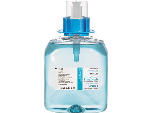 GOJO 5188-03 PROVON Foaming Medicated Handwash w/Moisturizer, Floral Foam, 1250ml