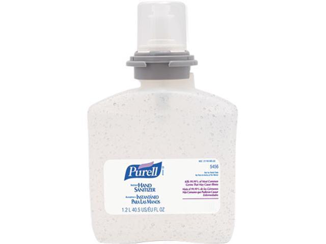 PURELL 5456-04 TFX Gel Instant Hand Sanitizer Refill, 1200-ml
