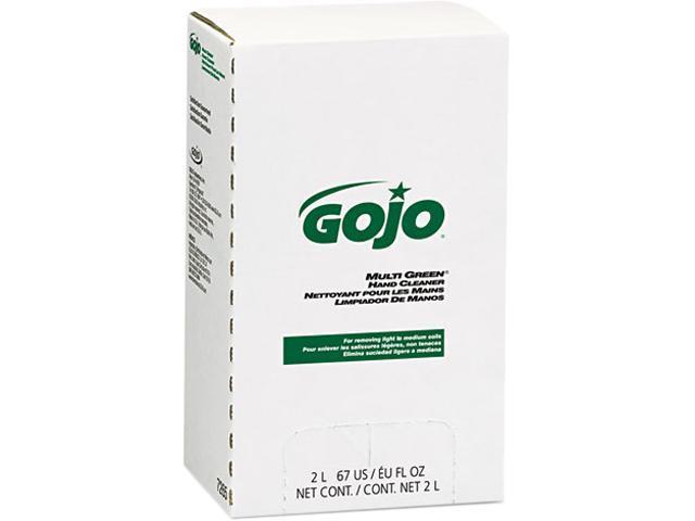 GOJO 7265 MULTI GREEN Hand Cleaner Refill, 2000 mL, Citrus Scent, Green, 4/Carton
