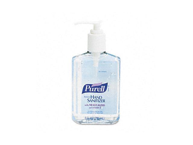 PURELL 9652-12EA Instant Hand Sanitizer, 8-oz. Pump Bottle