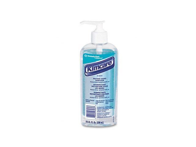 KIMBERLY-CLARK PROFESSIONAL* 93060EA KLEENEX Instant Hand Sanitizer, 8oz, Pump Bottle, Sweet Citrus