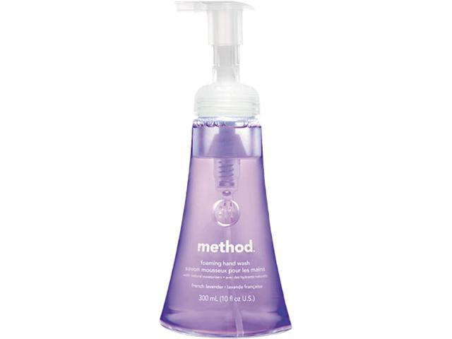 Method 00363 Foaming Hand Wash, Lavender Foaming, 10 oz Pump Dispenser, 1 Each