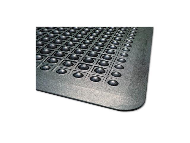 Guardian                                 FlexStep Rubber Anti-Fatigue Mat, Polypropylene, 36 x 60, Black
