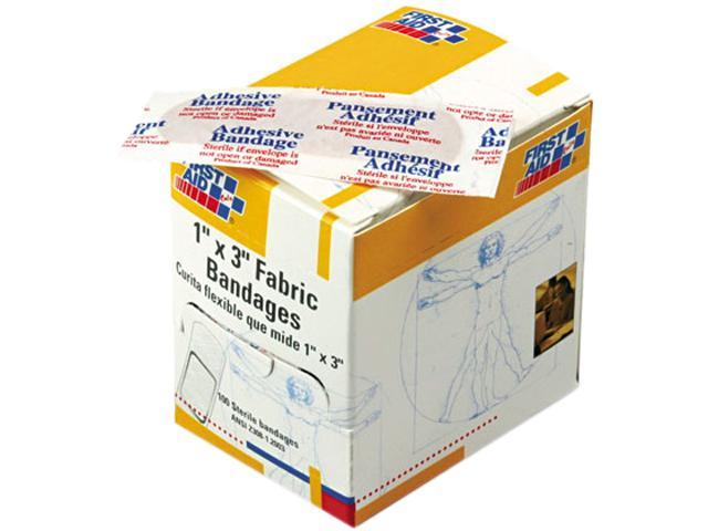 Fabric Bandages,1 x 3, 100/Box