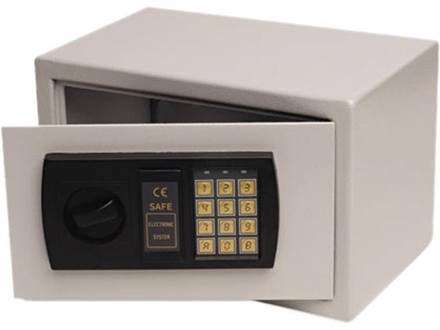 Gary HS1207 Personal Safe, .3ft3, 12-1/4w x 7-3/4d x 7-3/4h, Light Gray
