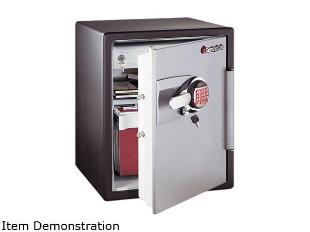 Sentry Safe OA5848 Electronic Safe, 2 ft3, 18-19/32w x 19-5/16d x 23-3/4h, Black/Gunmetal Gray