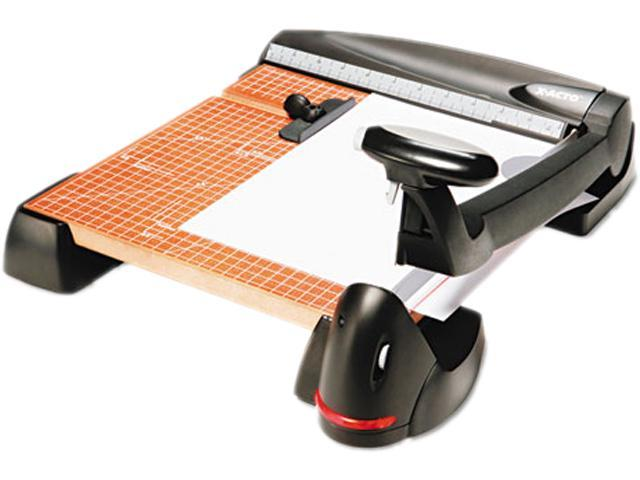 X-ACTO 26642 Laser Trimmer, 12 Sheets, Wood Base, 12