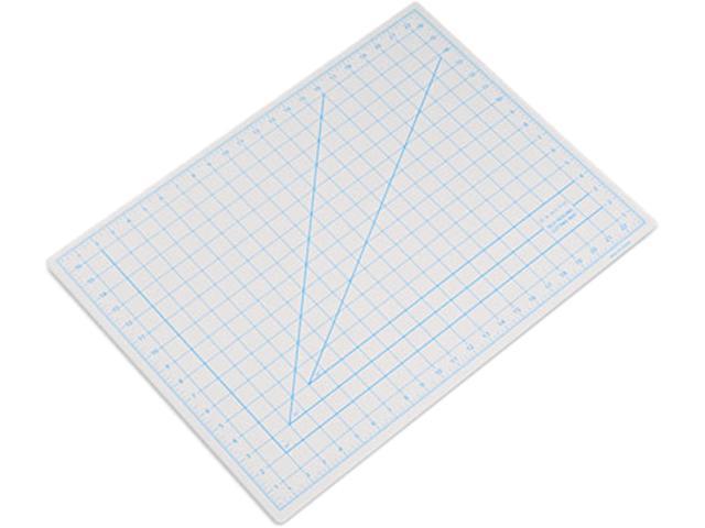 "X-ACTO X7762 Self-Healing Cutting Mat, Nonslip Bottom, 1"" Grid, 18 x 24, Gray"