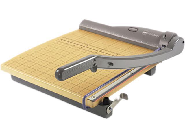 Swingline 9715 ClassicCut Laser Trimmer, 15 Sheets, Metal/Wood Composite Base, 12