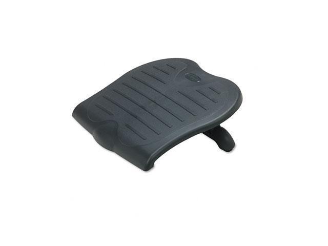 Kensington 56152 Solesaver Footrest, 14w x 18d x 2-1/2 to 4-1/2h, Black