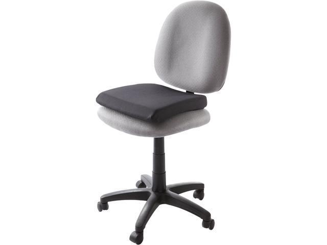 """Kensington L82024F Memory Foam Seat Rest, 14.5"""" L x 13.5"""" W x 2.0"""" H, Black"""