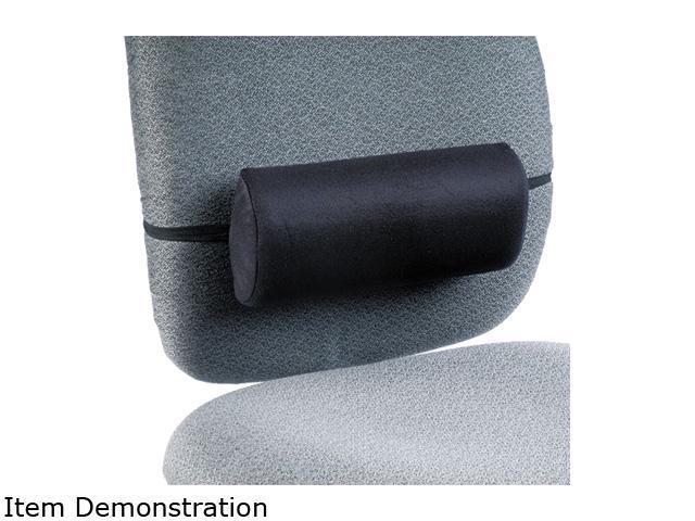 Safco 71101 Remedease Lumbar Backrest, 11-1/2w x 2-1/2d x 5h, Black