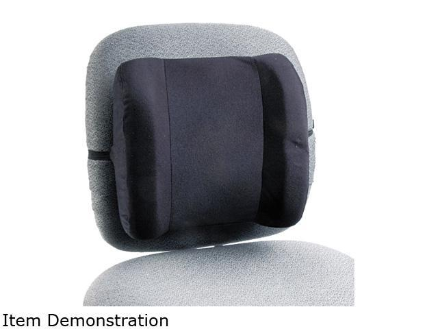 Safco 71491 Remedease High Profile Backrest, 13w x 4-1/2d x 12-1/2h, Black