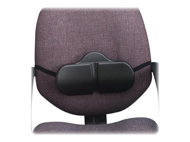 Safco 7150BL Softspot Lumbar Roll Backrest, 13-1/8w x 2-1/2d x 8h, Black