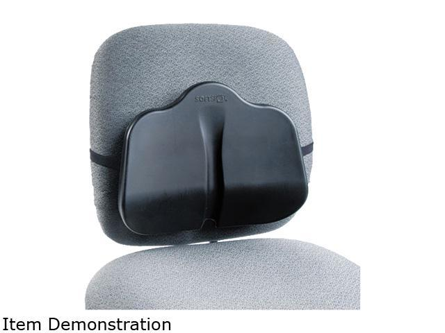Safco 7151BL Softspot Low Profile Backrest, 13-1/2w x 3d x 11h, Black