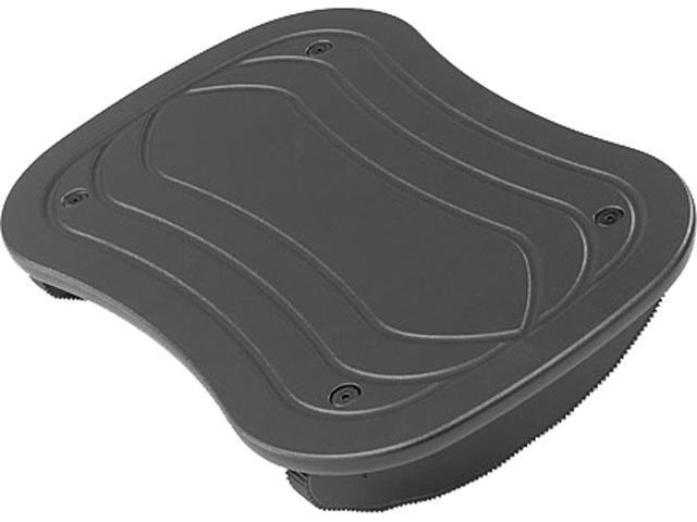 Safco 2122BL Rock N Stop Adjustable Foot Rest, 17 1/2 W x 11 1/2 D x 3 1/2 H, Black
