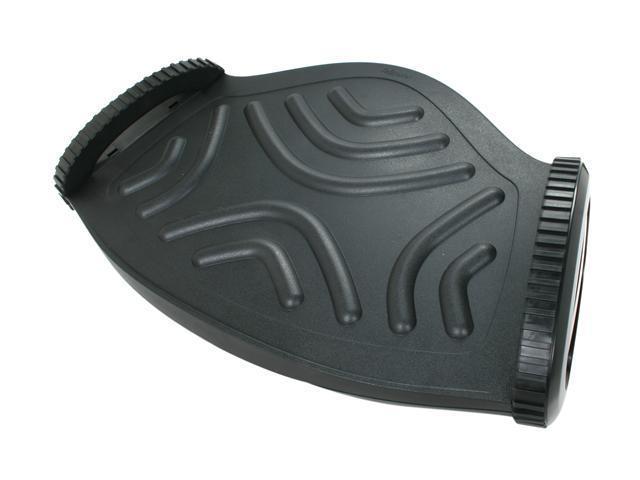 Fellowes Foot Rocker w/Microban, Plastic, 19 5/8 x 5 3/16 x 11 15/16, Black