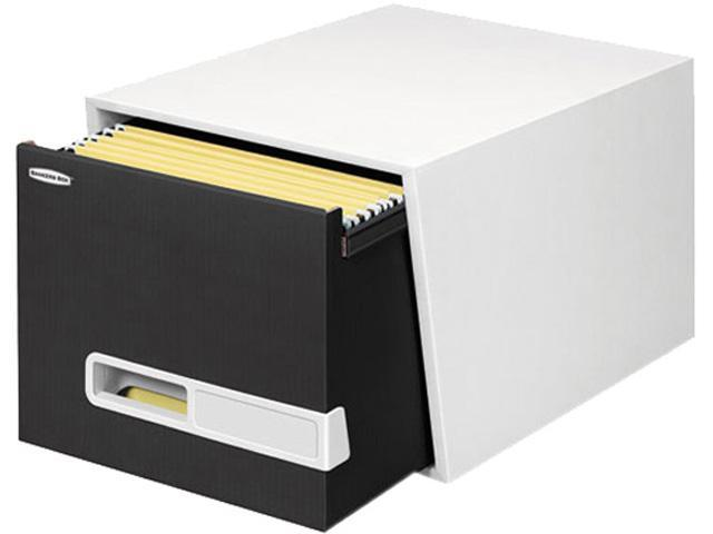 Bankers Box 3791001,STOR/DRAWER Premier Extra Space Savings Storage Drawers, Letter, Black, 5/CT