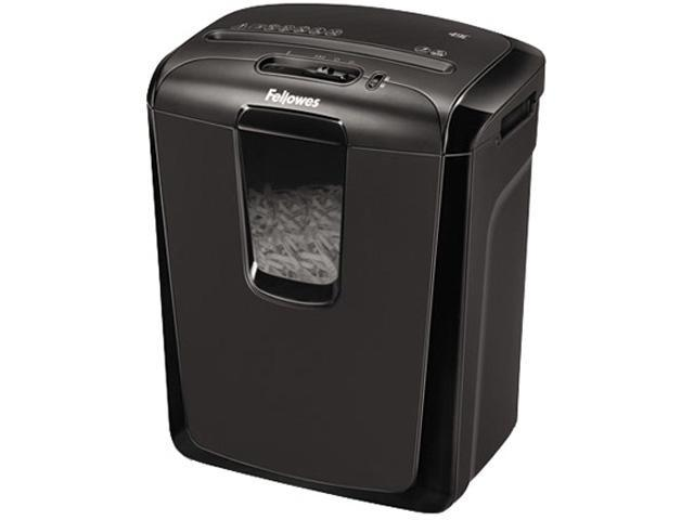 Fellowes Powershred 49C 49C Cross-Cut Shredder, 8 Per Pass, 4 gal. Waste Capacity