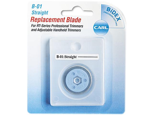 CARL 15001 Bidex Straight Blade for Personal/Professional Rotary Trimmers