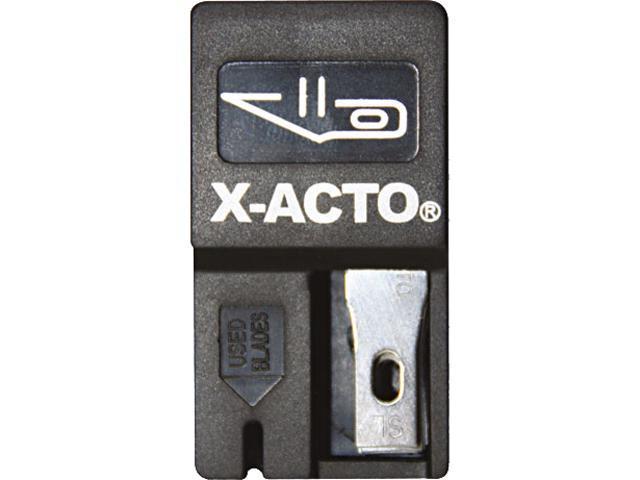 X-ACTO X411 #11 Nonrefillable Blade Dispenser, 15/Pack
