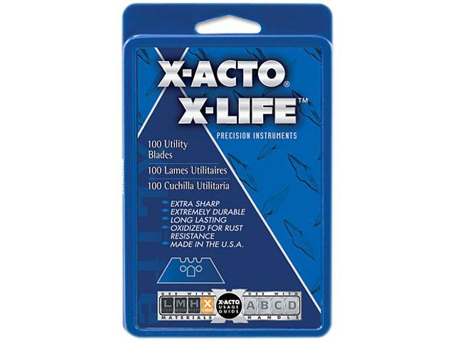 X-ACTO X692 SurGrip Utility Knife Blades, 100/Pack
