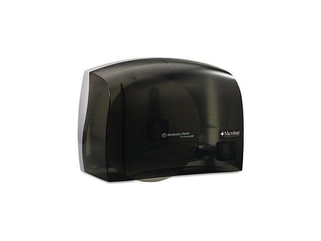 KIMBERLY-CLARK PROFESSIONAL* 09602 IN-SIGHT Coreless JRT Tissue Dispenser, 14 1/8w x 6d x 9 3/4h, Smoke/Gray