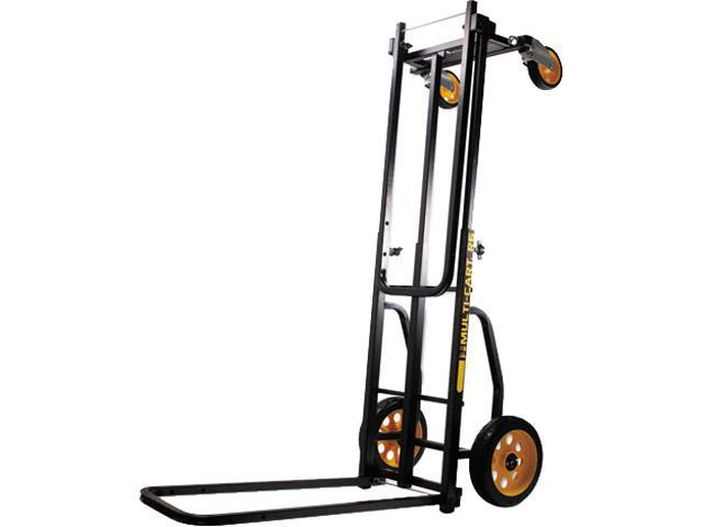 Advantus 86201 Multi Cart 8-in-1 Equipment Cart, 500lb Capacity, 18 x 33-1/2 x 42-1/2, Black