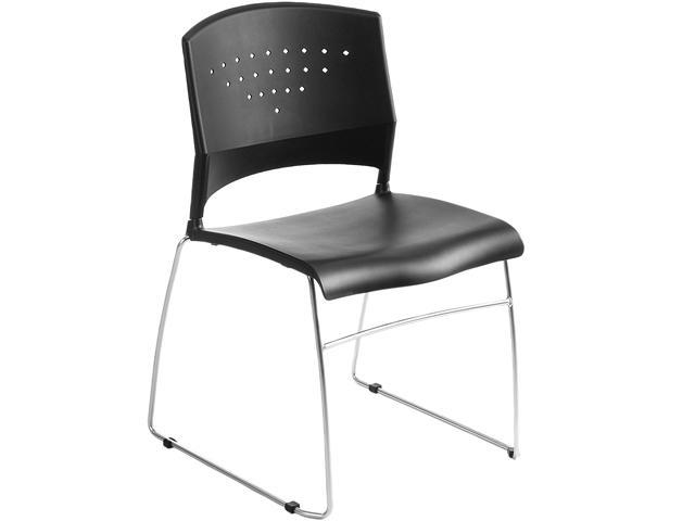 BOSS Office Products B1400-BK-1 Guest Chairs