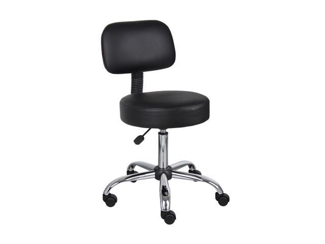 BOSS Office Products B245-BK Medical Stools