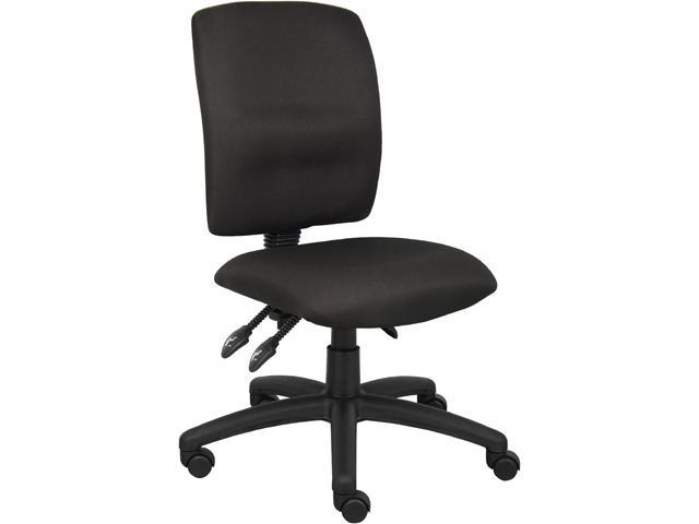 Boss B3035BK Multi-Function Fabric Task Chair Without Arms