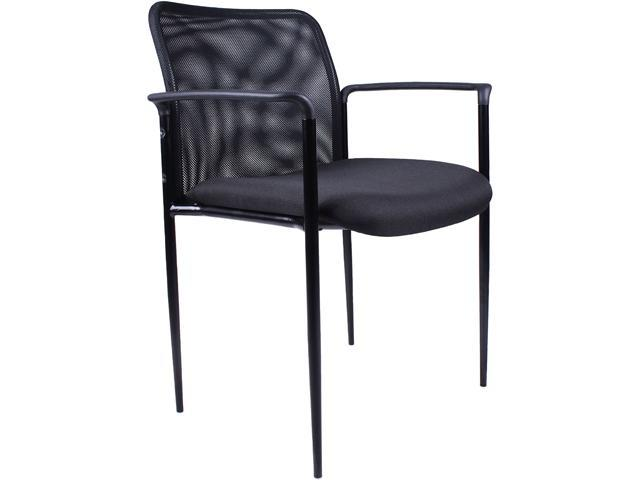 BOSS Office Products B6909-BK Guest Chairs