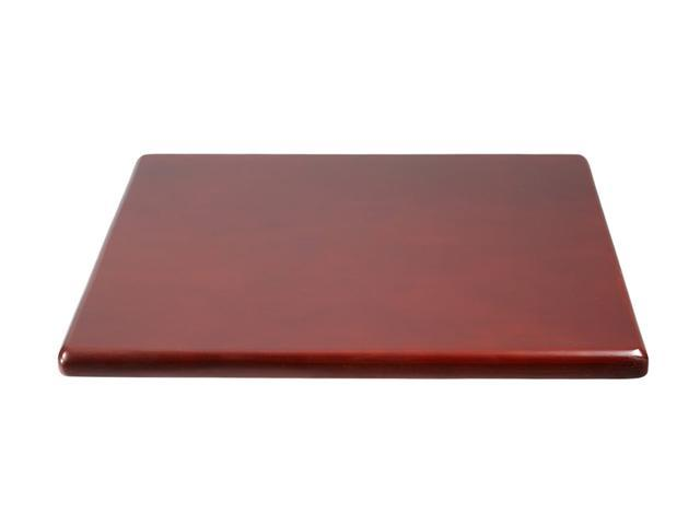 Boss Office Supplies B6ST-M Spacer Table, Mahogany