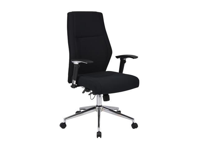 BOSS Office Products B767-BK Executive Seating
