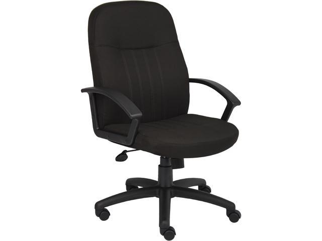 BOSS Office Products B8306-BK Executive Seating
