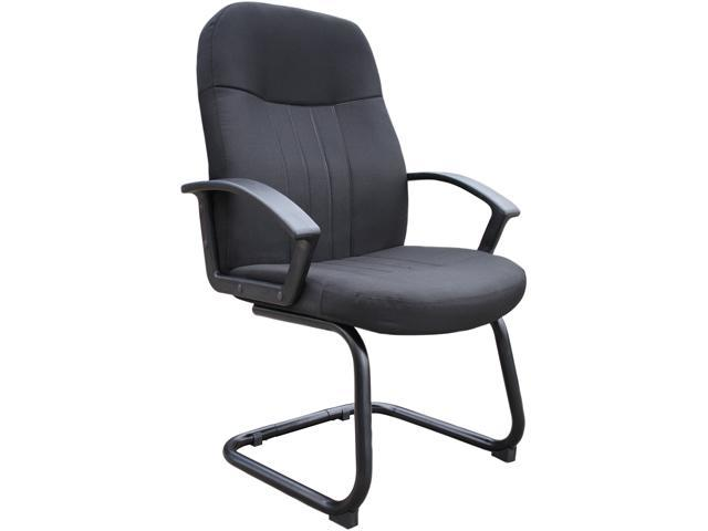 BOSS Office Products B8309-BK Guest Chairs