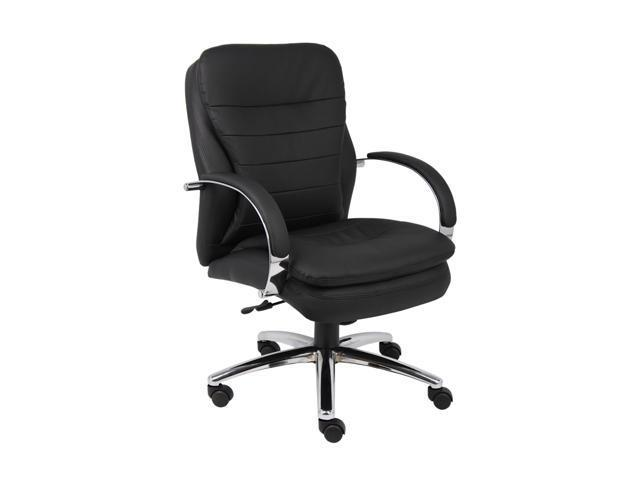 BOSS Office Products B9227 Deluxe Executive Contemporary Chair