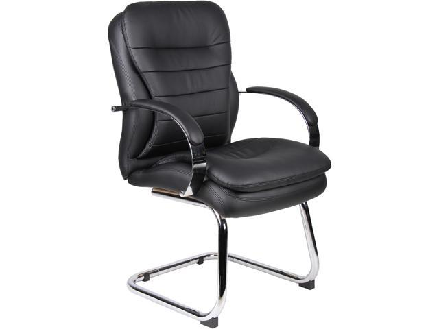 BOSS Office Products B9229 Deluxe Contemporary Guest Chair