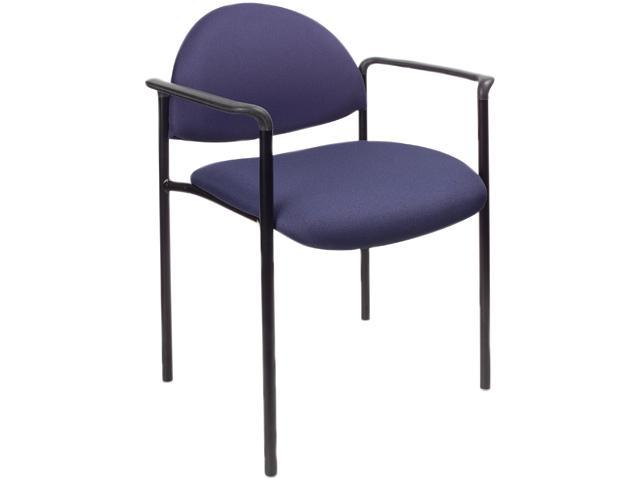 BOSS Office Products B9501-BE Stacking Chairs
