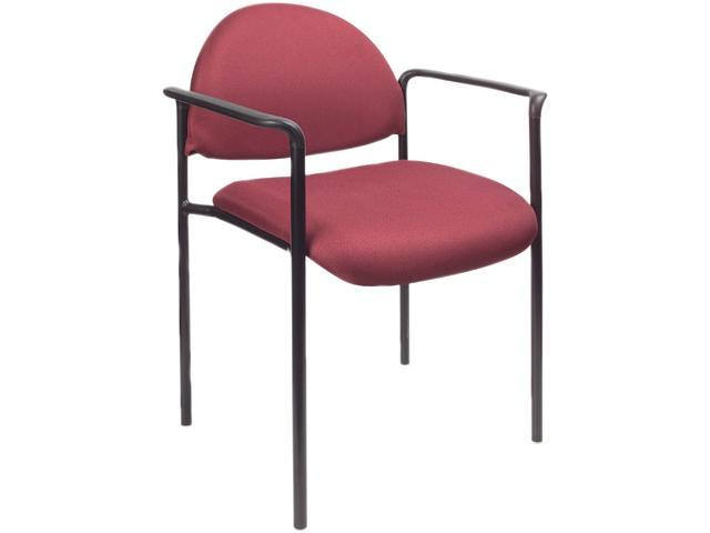 BOSS Office Products B9501-BY Stacking Chairs