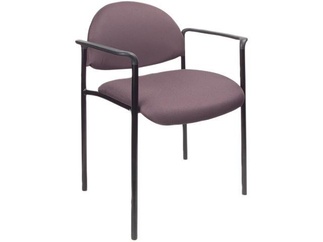 BOSS Office Products B9501-GY Stacking Chairs