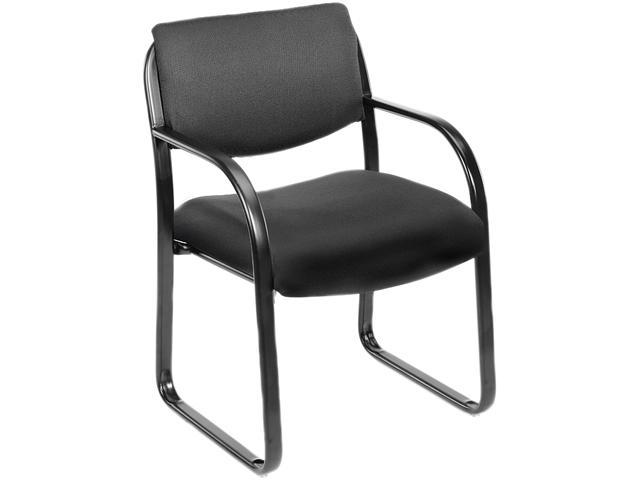 BOSS Office Products B9521-BK Guest Chairs