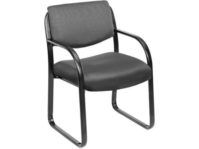 BOSS Office Products B9521-GY Guest Chairs