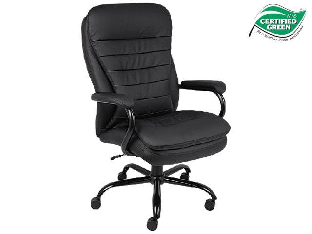 Fancy BOSS Office Products B CP Heavy Duty Pillow Top Executive Chair