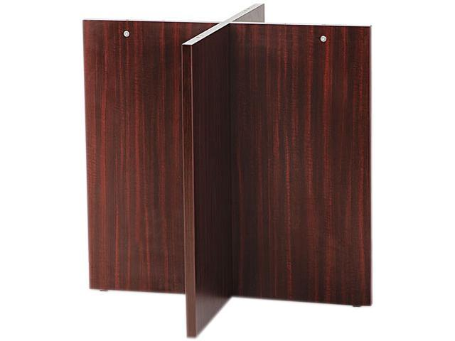 Alera ALEVA742815MY Valencia Series Base Kit, Straight Leg, 29-1/2w x 28-1/2h, Mahogany