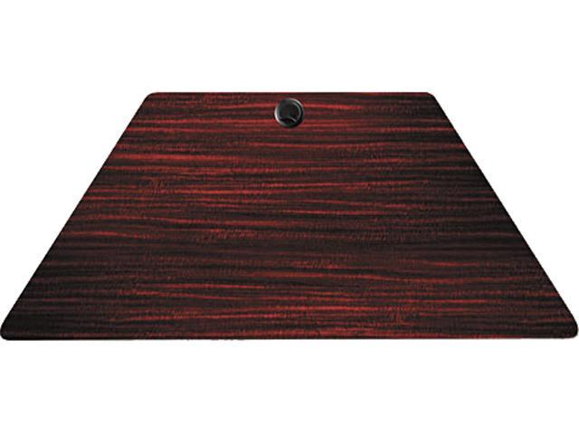Alera ALEVA72TZ4824MY Valencia Series Table Top, Trapezoid, 48w x 24d, Mahogany