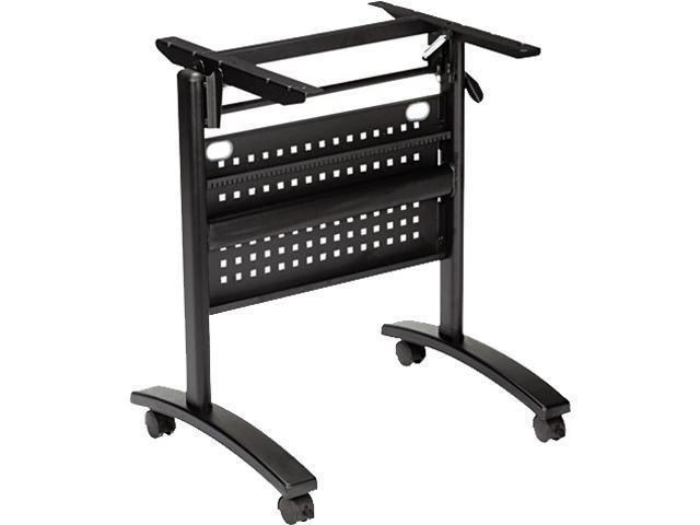 Alera ALEVA734836BK Valencia Series Table Base, Modesty Panel, 24w x 20d, Black