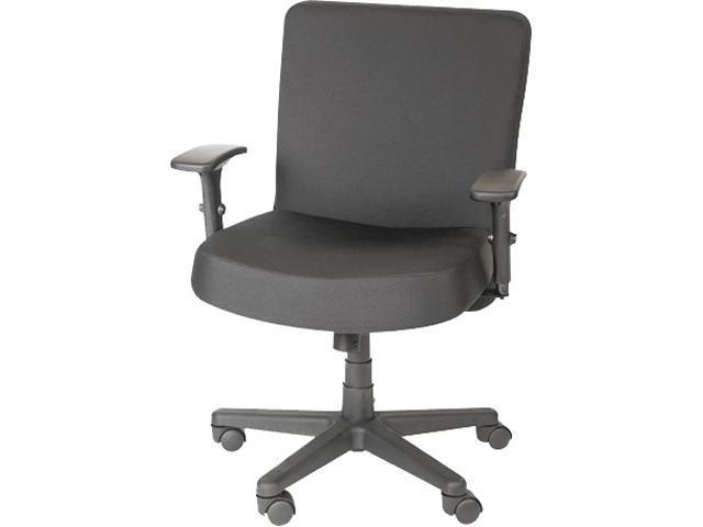 Alera CP210 (AAPCP210) XL Series Big & Tall Mid-Back Task Chair, Black